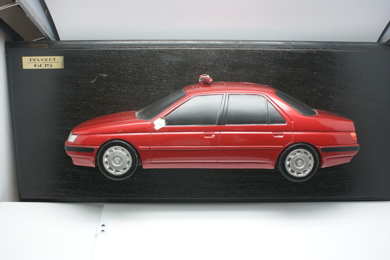 Nouvelle année année année nouvelle couleur Promotionnel Peugeot 60cm Plâtre Peugeot 605   La Qualité  a4a451