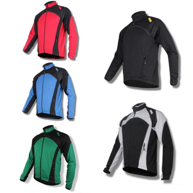 SPAKCT Cycling Outdoor Sport Fleece Thermal Jersey Winter Jacket-New Power 3