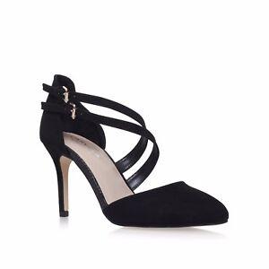 ecb4482d34 New Boxed Carvela Kurt Geiger Colour Black Mid Heel Court Shoes UK ...