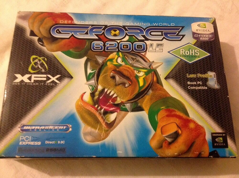 XFX GEForce 6200, Gaming Card, New In Box!