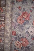 Quilt, Sew, Fabric - 3 Yards Print Concepts Antique Rose - Grey/dusty Rose
