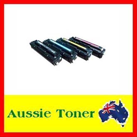 4x HP CC530A-3A Toner for Laserjet CM2320,CP2025,CP2025n,CP2025dn,CM2320fxi