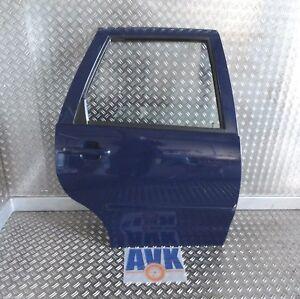 Tuer-hinten-rechts-VW-Polo-Classic-6KV2-Fensterheber-manuell-blau