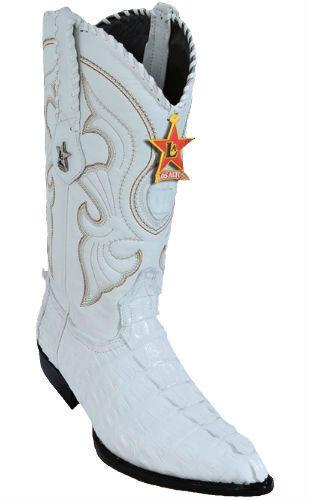 LOS ALTOS CAIMAN TAIL COWBOY stivali J-TOE 990128 bianca bianca bianca 437e9f