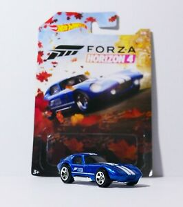Details about HOT WHEELS 2019 FORZA HORIZON 4 SERIES CHASE SHELBY COBRA  DAYTONA COUPE LOOSE