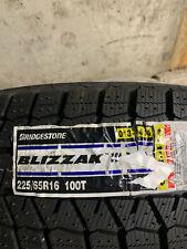 4 New 225 65 16 Bridgestone Blizzak Ws80 Snow Tires