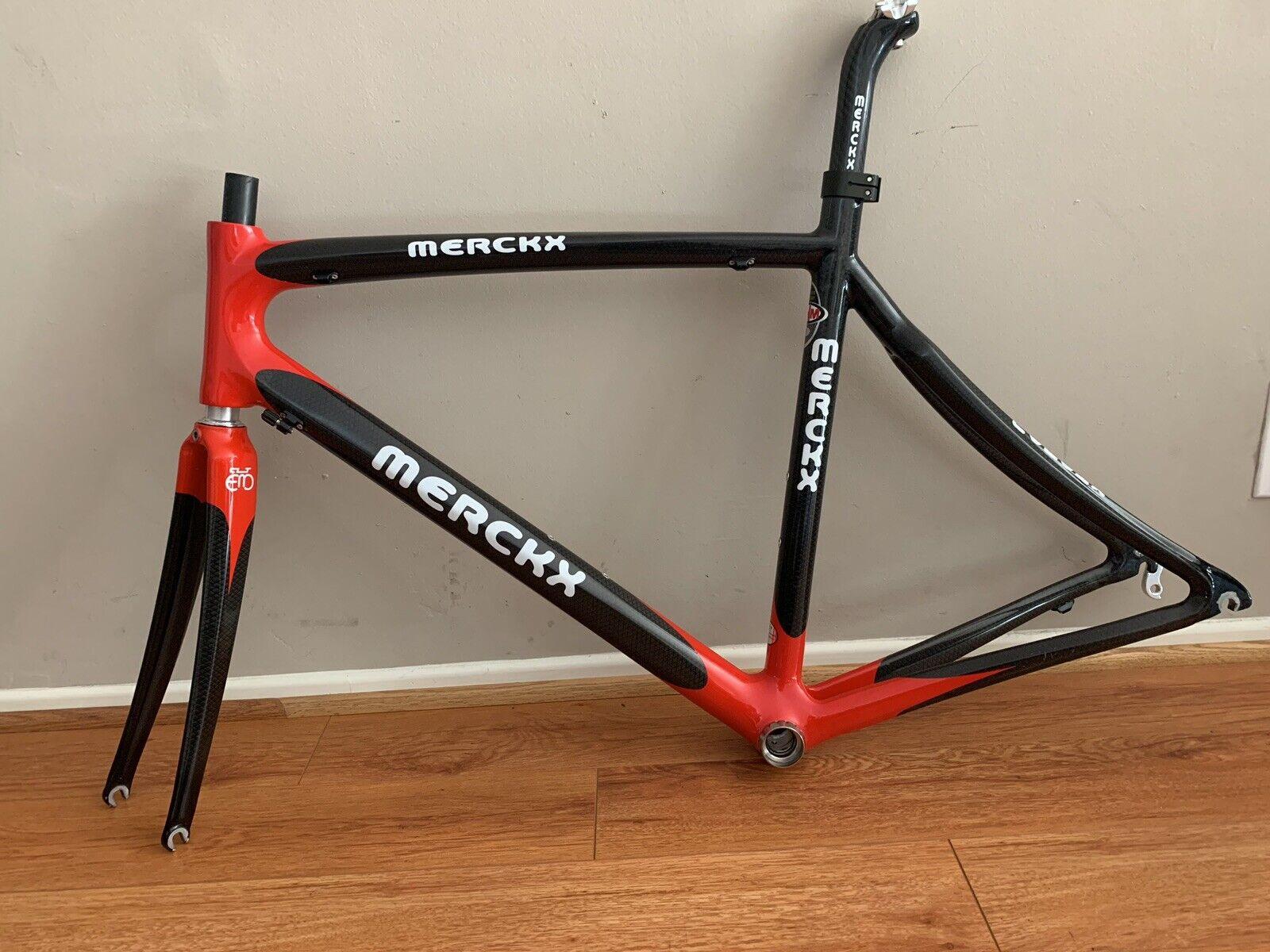 Eddie Merckx CHM Carbon Frame 52cm
