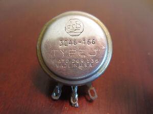 Allen Bradley Type J 3245 166 Potentiometer