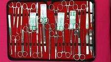 117 Pc Us Military Field Minorsurgery Surgical Veterinary Dental Instruments Kit