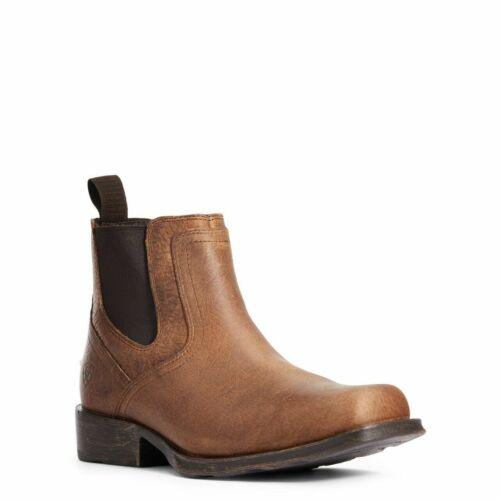 Ariat® Men/'s Midtown Rambler Earth Brown Square Toe Boots 10034166