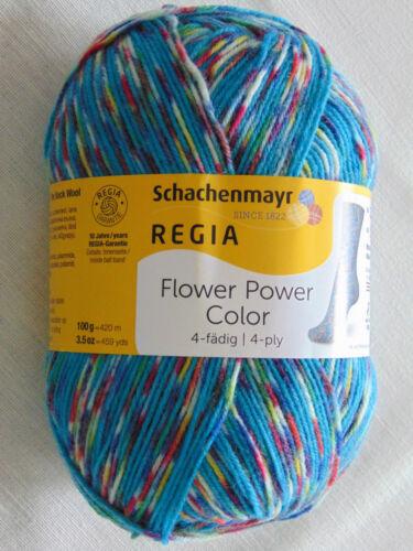 Sockenwolle FLOWER POWER Garn Regia Schachenmayr 100g