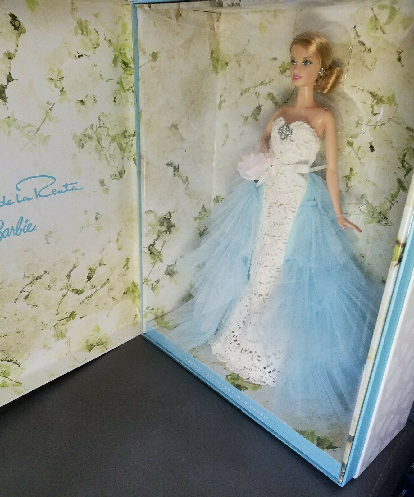 Oscar de la Renta Barbie Doll in Box - High-end Fashion Doll