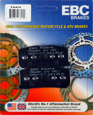 SE5 2010-2012 Can-Am for Spyder RT Limited RPM EBC Pads Front+Rear Brake Pads 3 Sets