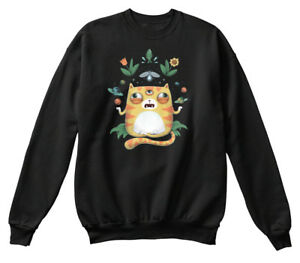 Romantique Off-the-rack The All Knowing Cat - N/a Sweat-shirt Sweat-shirt Confortable