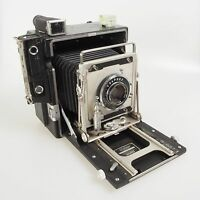 = Graflex Speed Graphic with Wollensak 135mm f4.7 Lens 4x5 Large Format Camera