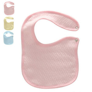 Hot Baby Bibs Reuseable Super Absorbent Pinafore Cotton Comfy Newborn Supplies