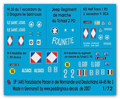 1/72 Franz. Panzer in der Normandie No 3 1445
