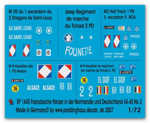 Panzer in der Normandie No 3 1445 1//72 Franz