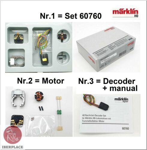 H0 1:87 Märklin 60760 decoder c90 motor Set digital de alta potencia locomotoras