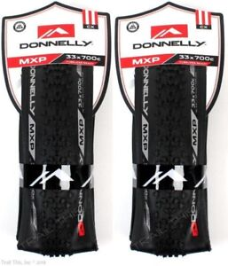 Two (2) Pack Donnelly/Cleme<wbr/>nt MXP 700x33 Tubeless Ready Cyclocross Bike Tires