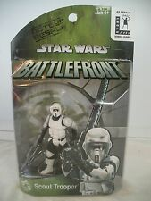Star Wars BATTLEFRONT SCOUT TROOPER Action Figure Video game exclusive MISB