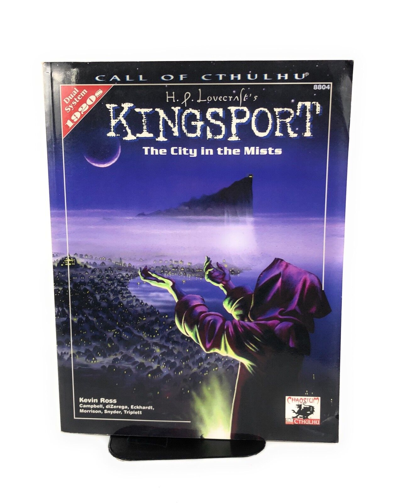 Chaosium Call of Cthulh H.P. Lovecraft's Kingsport - The City in the Mist SC VG