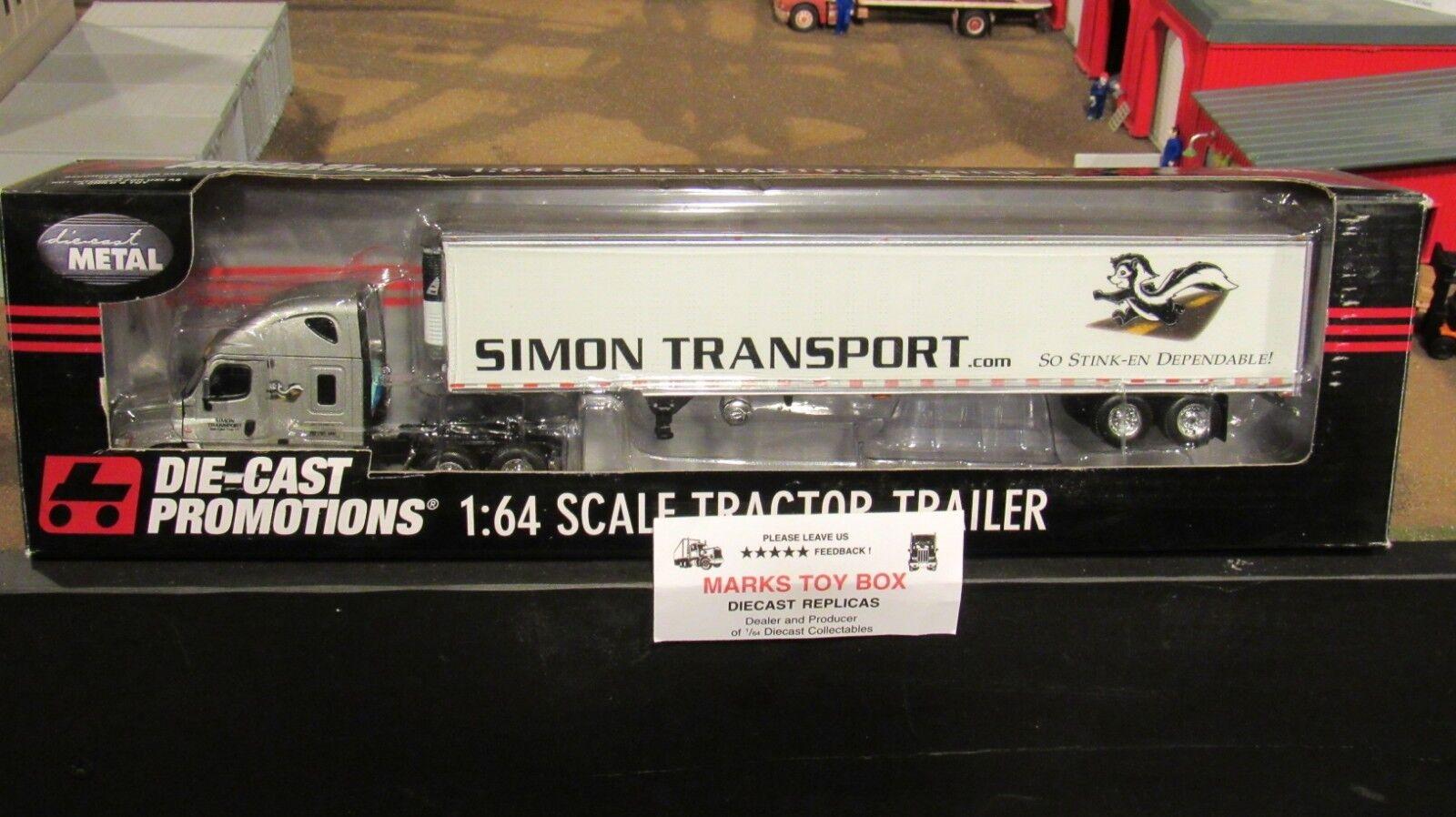 los nuevos estilos calientes DCP 32956 Simon transporte transporte transporte FL Cascadia 53' hierba Remolque 1 64 CL  Con 100% de calidad y servicio de% 100.