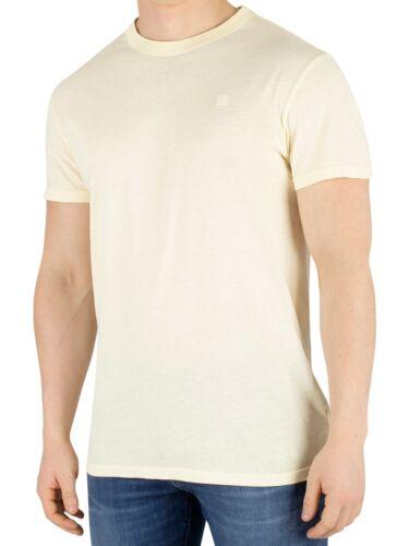 G-Star Men/'s Recycled Dye T-Shirt Yellow