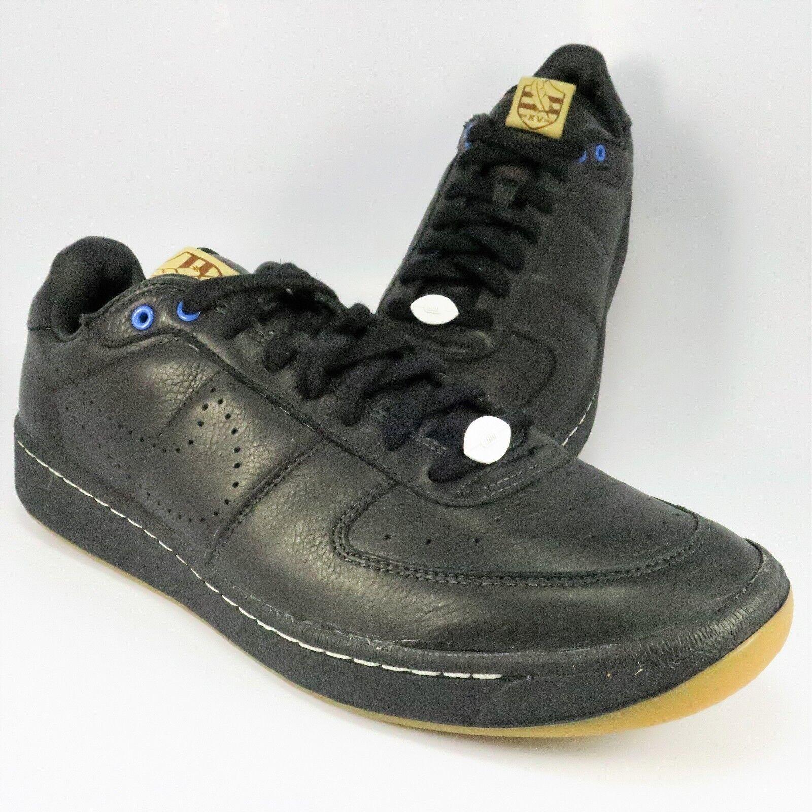 de nouvelles baskets nike xv zoom cour suprême faible faible suprême taille de cuir noir chez 447843 10,5 millions fea1d4
