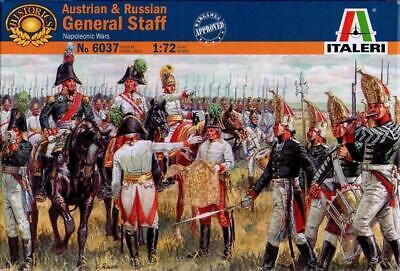 Italeri - Austrian & Russian General Staff (napoleonic Wars) - 1:72 - 6037 Risparmia Il 50-70%