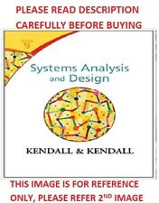 Systems Analysis And Design By Julie E Kendall And Kenneth E Kendall 2013 Hardcover For Sale Online Ebay