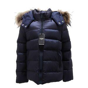 buy popular aebaf 0a2c7 Details about 5887N Piumino FENDI blu bimbo jacket kids