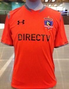 NWT Under Armour Club Social Y Deportivo Colo Colo Soccer Jersey L ... eb43f4602