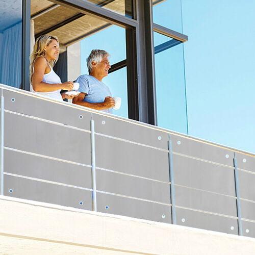 PVC Balkonsichtschutz Balkonbespannung Balkon Windschutz Sichtschutz Markise