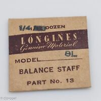 Longines Genuine Material Balance Staff Part 13 723 For Longines Model 8l