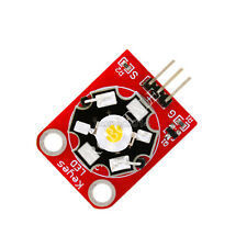 New 3w High Power Keyes Led Module With Pcb Chassis For Arduino Stm32 Avr