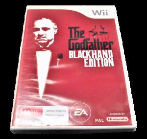 The-Godfather-Blackhand-Edition-Nintendo-Wii-PAL-Complete-Wii-U