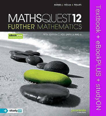 1 of 1 - Maths Quest 12 Further Mathematics & Ebookplus by Anthony Novak, Geoff Phillips…