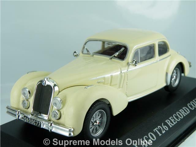 TALBOT LAGO T26 RECORD COUPE 1948 CAR CAR CAR 1 43RD SIZE 2 DOOR SPORT VERSION R0154X{ } 4f2372