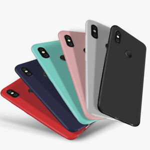 buy popular b049b 77ea9 Details about For Xiaomi Redmi Note 6 Pro 5 Mi A2 S2 Luxury Slim Matte Soft  Rubber Case Cover