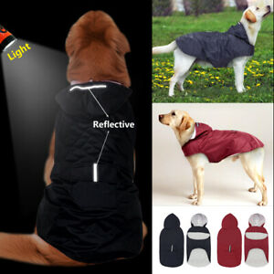 Black-Boxer-Dog-Raincoat-for-Large-Dogs-Waterproof-Reflective-Rainwear-3XL-5XL