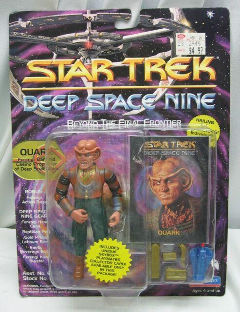 STAR TREK QUARK Ferengi Action Figure  DS9 1993 Playmates Deep Space 9 MOC