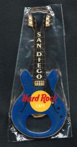 Hard Rock Cafe SAN DIEGO Bottle Opener Guitar Magnet