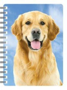 Golden-Retriever-3D-Notebook