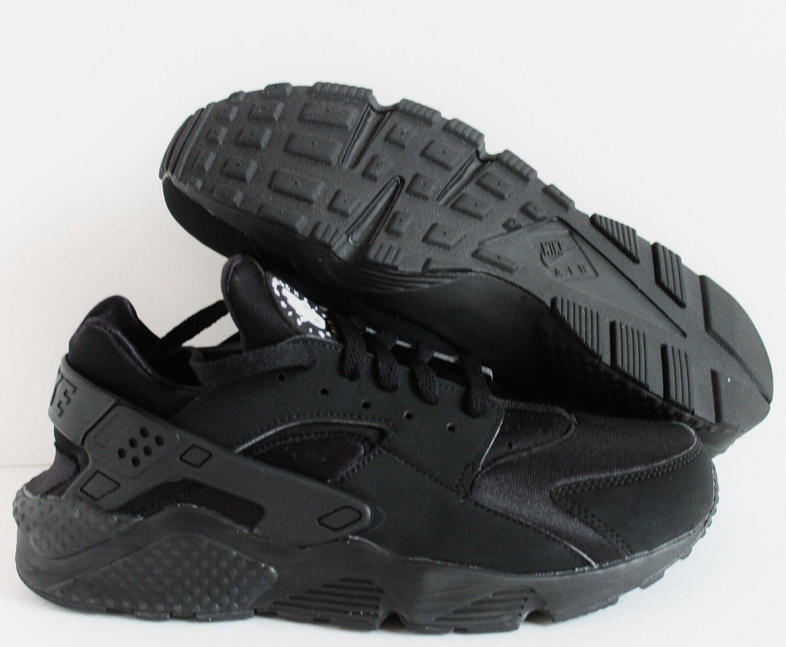 Los hombres de Nike 9 Air huarache Run Negro-Blanco SZ 9 Nike [318429-003] a2aba2