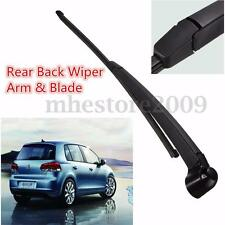 Hatch Rear Back Wiper Arm Blade Set For VW Golf Mk5 2004-2008 55 06 56 07 57 58