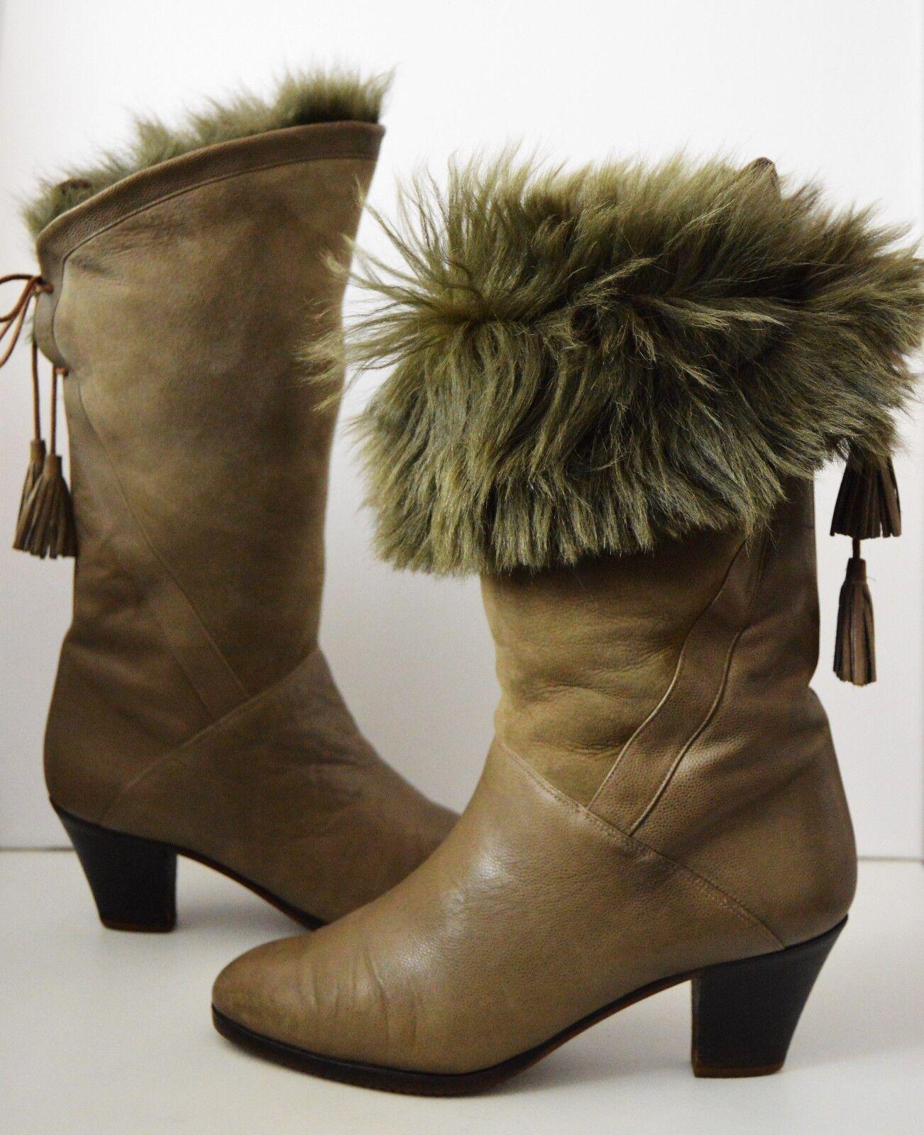 Stiefel alta moda BALDAN Fell Stiefel Stiefelette True Vintage 80er Winterstiefel