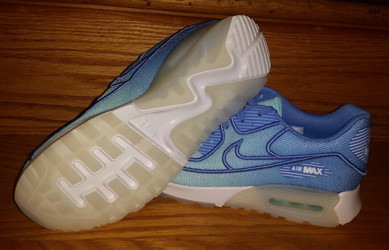 Nike Air Max 90 Ultra 2.0 BR Breathe Breathe Breathe 917523-400 Women's US 8.5 bluee NEW  130 5f3b7e