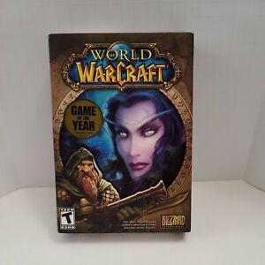 World of Warcraft (Windows, PC CD-ROM) Very Good, FREE SHIPPING