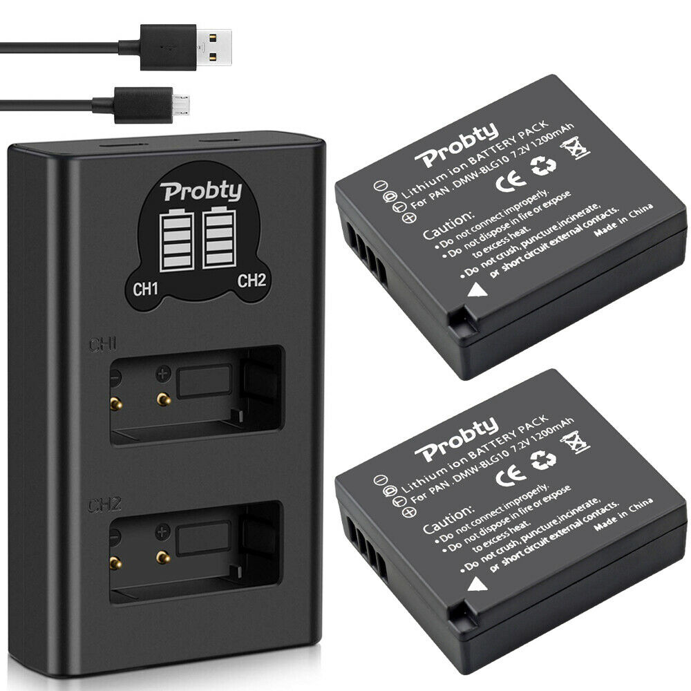 2 Batteries   Dual Charger
